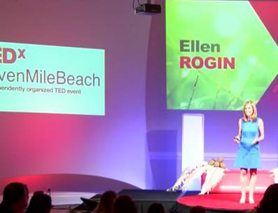 Ellen Speaking at TEDx