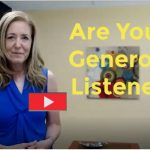 Three Things to do for Generous Listening